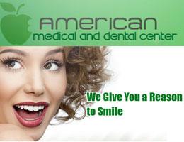 المركز الامريكى للطب وعلاج الاسنان