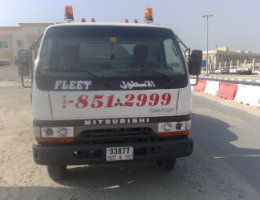 Fleet Vehicle Towing Service