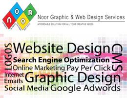 Noor Graphic & Web Design Services