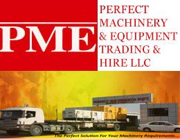 Perfect Machinery & Equipment Trading & Hire LLC